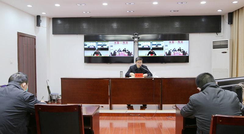 罗朝峰同志对水富市新型冠状病毒感染的肺炎疫情防控工作再强调再部署