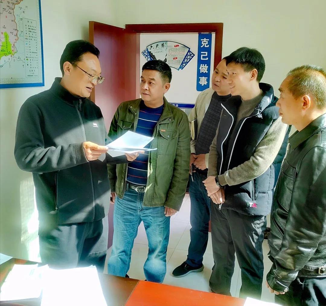 昭通市委政法委深入水富市太平镇调研